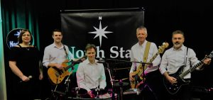 Whole band photo - North star party band